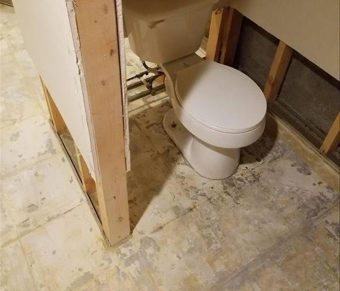 Water Damage- Basement After